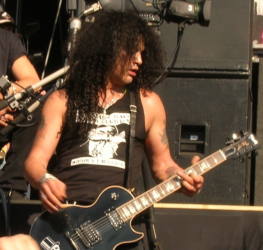 Slash... he is so fucking awesome